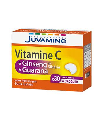Juvamine Vitamine C Ginseng Guarana