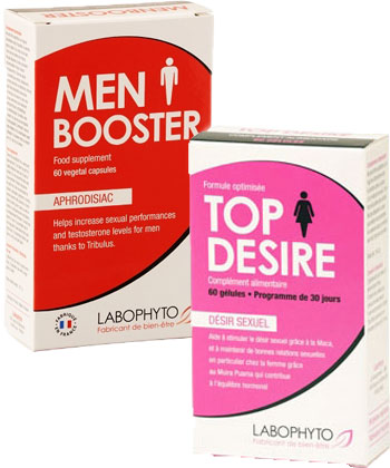 LaboPhyto Pack Booster de libido en couple